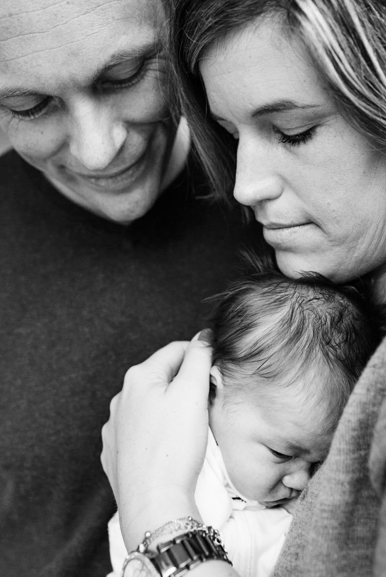 Newborn fotoshoot Rebel Shots fotografie Be-You Familie Newborn